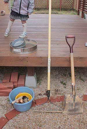 土つくりの道具