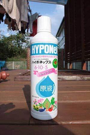 芝生の液体肥料