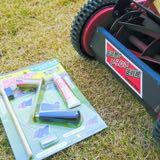 芝刈り機の研磨